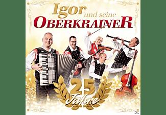Igor Und Seine Oberkrainer - 25 Jahre  - (CD)