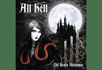All Hell - The Grave Alchemist (Gold/Red/Splatter)  - (Vinyl)