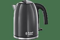 RUSSELL HOBBS 20414-70 Storm Grey Wasserkocher , Grau/Edelstahl/Schwarz