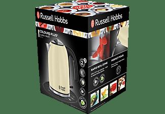 RUSSELL HOBBS 20415-70 Classic Cream Wasserkocher, Creme/Edelstahl/Schwarz