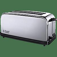 RUSSELL HOBBS 23520-56 Victory Toaster Edelstahl/Schwarz (1600 Watt, Schlitze: 2)
