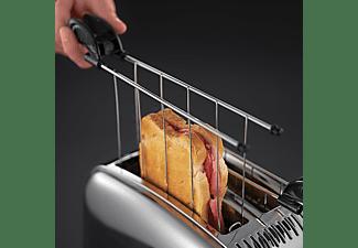 RUSSELL HOBBS 23310-57 Victory Toaster Edelstahl/Schwarz (1200 Watt, Schlitze: 2)