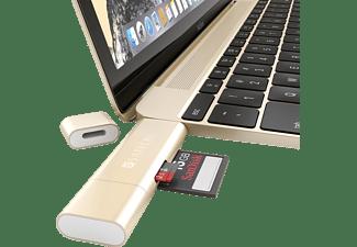 SATECHI USB Typ-C + USB 3.0 Kartenleseadapter