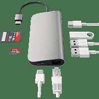 SATECHI MULTI-PORT, USB Typ-C Hub, Space Gray