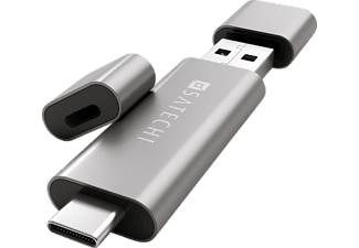 SATECHI Typ-C + USB 3.0 Kartenlesegerät