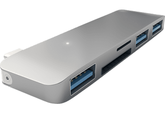 SATECHI USB HUB, USB Typ-C Hub, Space Grey