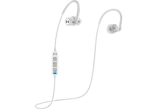 JBL Armour Sport Wireless Heart Rate - Bluetooth Kopfhörer mit Ohrbügel (In-ear, Weiss)