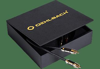 OEHLBACH XXL® Black Connection 2x 1.25m Master Set Cinchkabel, Schwarz