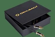 OEHLBACH XXL® Black Connection 2x2,0m Master Set Cinchkabel, Schwarz