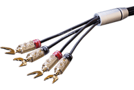 OEHLBACH XXL® Fusion Four.4 350 Kabelschuhkabel, Schwarz