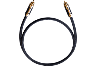 OEHLBACH XXL Black Connection Digitalkabel 2.0 m Cinchkabel, Schwarz