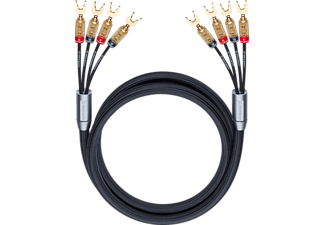 OEHLBACH XXL® Fusion Four.4 450 Kabelschuhkabel, Schwarz