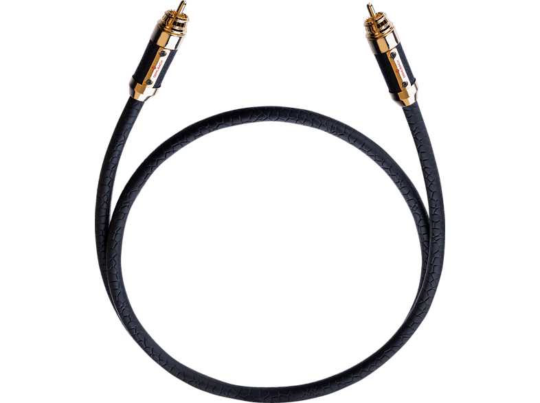 OEHLBACH XXL Black Connection Digitalkabel 1.25 m Cinchkabel, Schwarz