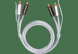 OEHLBACH Silver Express Plus 1.50 m Phono-Cinchkabel, Silber