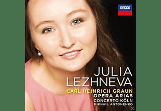 Julia Lezhneva - Graun Arias  - (CD)
