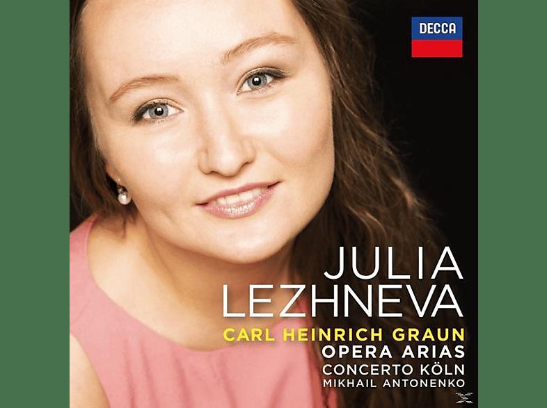 Julia Lezhneva - Graun Arias [CD]