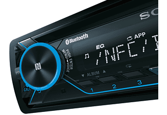 SONY MEX-N4200BT Autoradio 1 DIN, 55 Watt