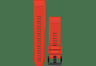 GARMIN Silikonarmband QuickFit 22mm für fenix 5, rot (010-12496-03)