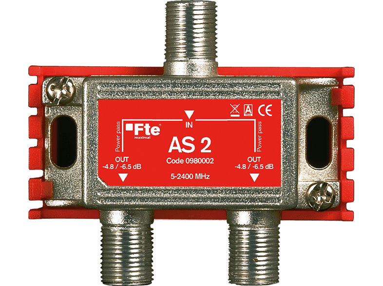 FTE MAXIMAL AS 2 SAT / 2-fach Universal Verteiler