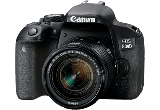 CANON EOS 800D με φακό 18-55mm IS