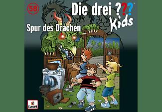 Die Drei ??? Kids - 058 - Spur des Drachen   - (CD)