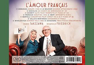Eriko Takezawa, Friedrich Reinhold - L'Amour Francais-Werke für Trompete und Klavier  - (CD)