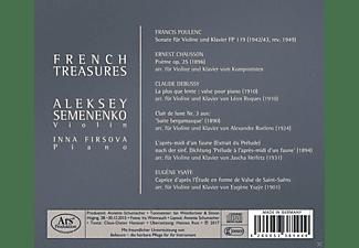 Aleksey Semenenko, Inna Firsova - French Treasures-Werke für Violine & Klavier  - (CD)