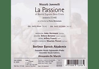 VARIOUS, Ensemble Vocale Sigismondo d´India, Ensemble Vocale Eufonia, Berliner Barock Akademie - La Passione di Nostro Signore Gesú Cristo  - (CD)