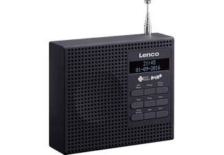 LENCO PDR 19 BK Radio, Digital, FM, DAB, DAB+