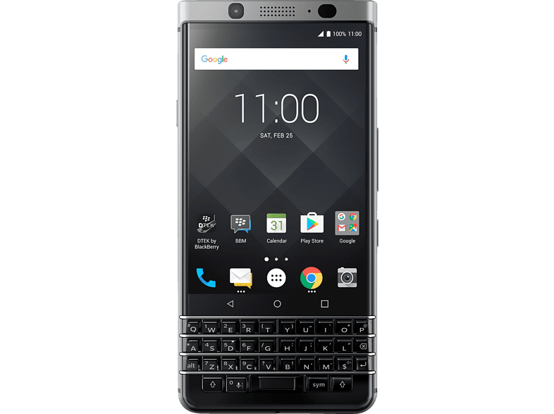 BLACKBERRY KEYone 32 GB Silber