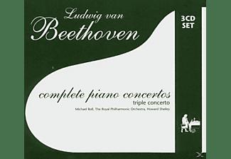 ROLL M.PIANO, WALLFISCH R.VIOLO - Complete Piano Concertos (Beethoven,Ludwig Van)  - (CD)