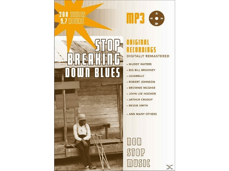VARIOUS - Stop Breaking Down Blues-MP3 [CD]