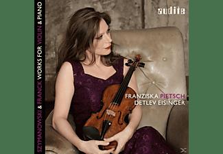 Franziska Pietsch, Detlev Eisinger - Works For Violin & Piano  - (CD)
