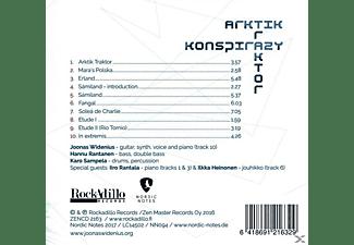 Joonas Widenius Trio - Arktik Traktor Konspirazy  - (CD)