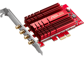 ASUS WLAN-Adapter PCE-AC88, PCIe x1 (90IG02H0-BM0000)