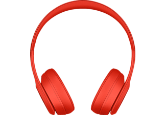 BEATS Solo 3 Wireless, On-ear Kopfhörer Bluetooth Rot