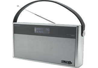 SOUNDMASTER DAB 750 SI Kofferradio, Digital, DAB+, FM, Silber