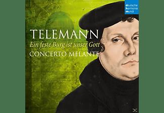 Robin Johannsen, Concerto Melante - Ein feste Burg ist unser Gott  - (CD)