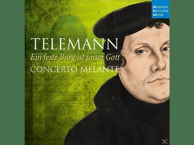 Robin Johannsen, Concerto Melante - Ein feste Burg ist unser Gott [CD]