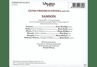 Haefliger/Stader/Höffgen/Borg/Rehfuss/Fricsay/Reit - Samson  - (CD)