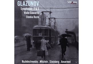 Milstein/Steinberg/Ansermet/Roshdestwenskij/+ - Symphonisches und Violinkonzert  - (CD)