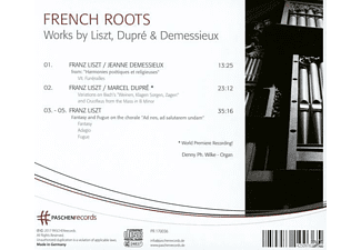 Denny Ph. Wilke - French Roots  - (CD)