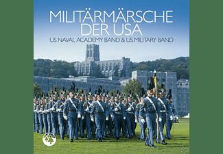 VARIOUS - Militär Märsche Der USA  - (CD)