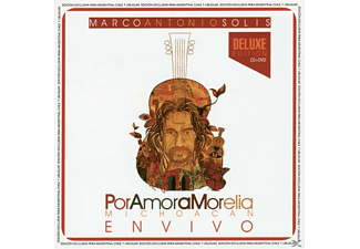 Marco Antonio Solís - Por Amor A Morelia Michoacan (CD+DVD)  - (CD)