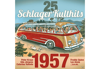 VARIOUS - 25 Schlager Kulthits: 1957  - (CD)