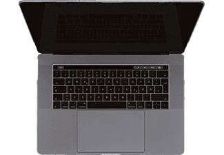 ARTWIZZ Clear Clip Notebooktasche Full Cover für Apple Kunststoff, Transparent