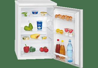 BOMANN VS 2185  Kühlschrank (E, 845 mm hoch, Weiß)