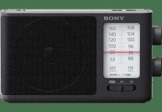 SONY ICF-506 Radio, Analog Tuner, FM, AM, Schwarz