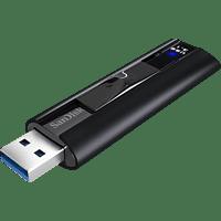 SANDISK Extreme PRO USB 3.2 USB Solid State Flash-Laufwerk (Schwarz, 128 GB)