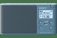 SONY XDR-S41D Radio, PLL-Synthesizer, FM, DAB, DAB+, Blau